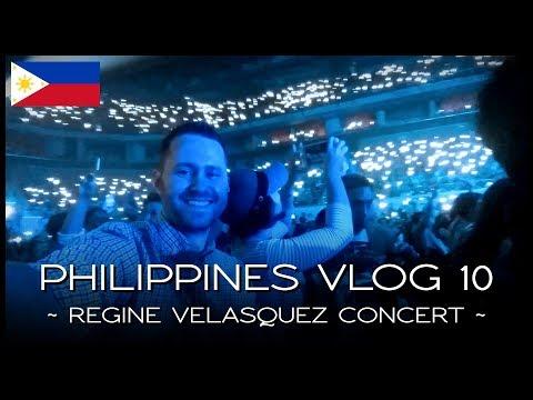 Regine Velasquez R30 Concert - PHILIPPINES VLOG 10