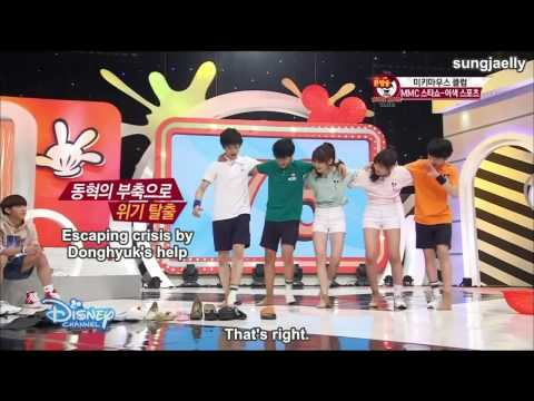 [ENG SUB] 150806 Mickey Mouse Club Minhyuk Cut Part (1/2)