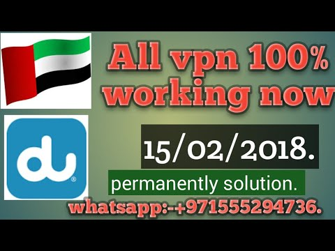 All vpn working now