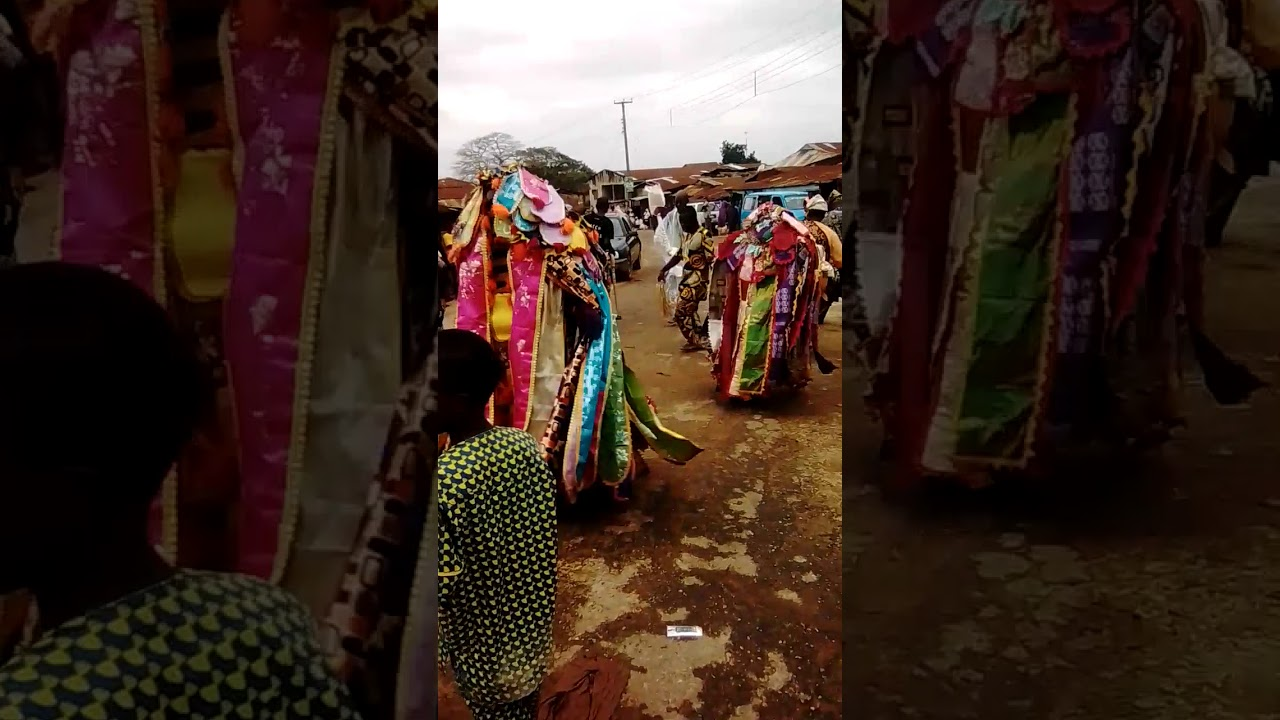 Download Egungun dance during Osun Alawoye  Festival Ido Osun