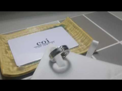 COI Jewelry Cobalt Chrome Ring - JT05