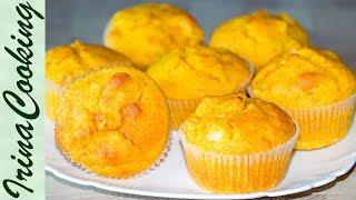 ТЫКВЕННЫЕ МАФФИНЫ с яблоками | Pumpkin Apple Muffins Recipe