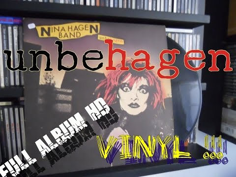 Nina Hagen Band - Unbehagen *Full Album* Vinyl 1979 HD