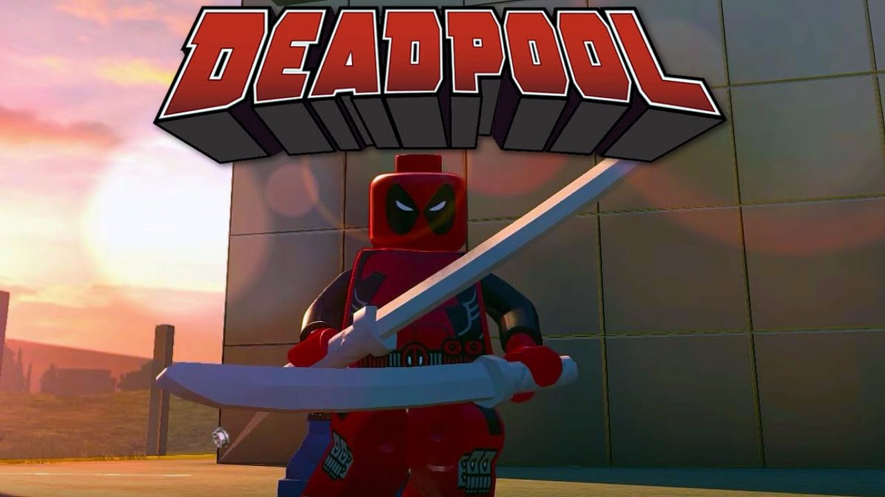 lego marvels avengers deadpool free roam gameplay pc