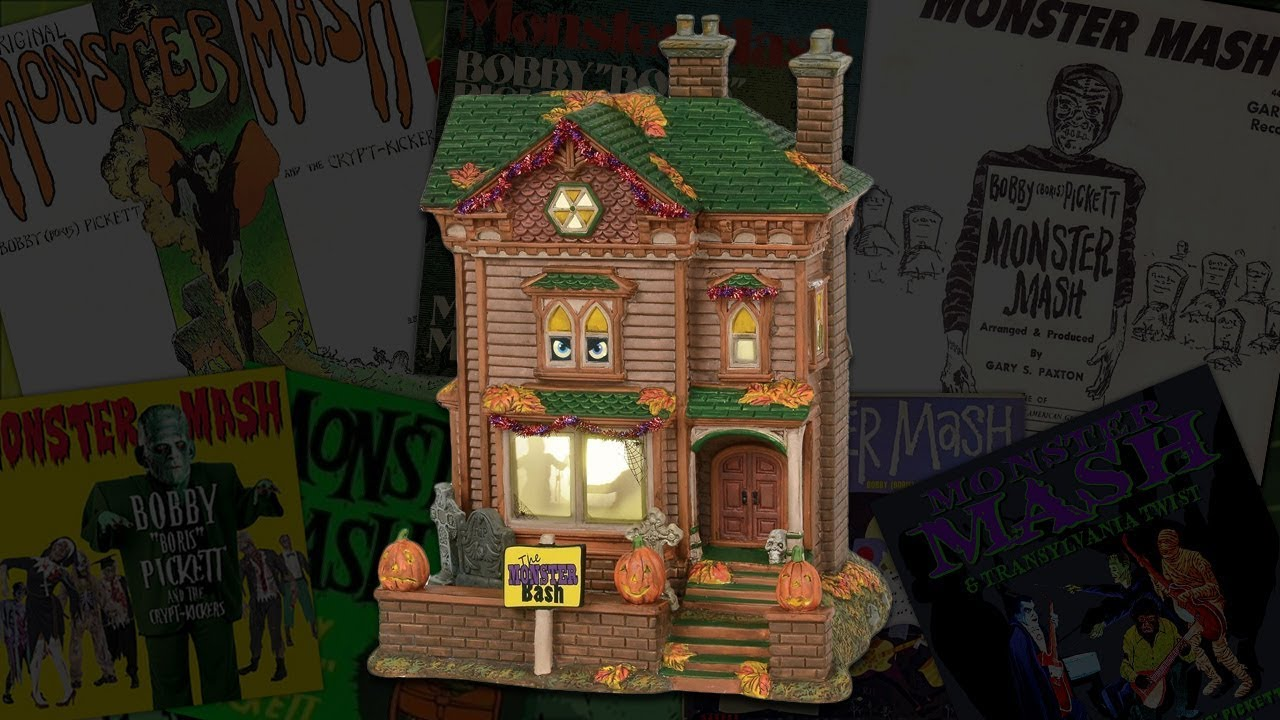 "monster mash house"" review - new for 2018 department 56 halloween"