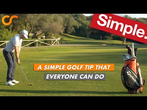 A SIMPLE GOLF TIP THAT EVERYONE CAN DO