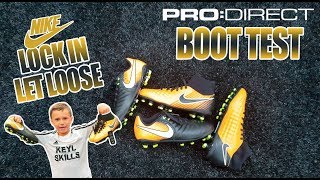EPIC NIKE BOOT TEST | PRO DIRECT PLAY TEST |  KEYL SKILLS