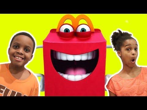 GIANT MCDONALD'S HAPPY MEAL - Shiloh and Shasha - Onyx Kids