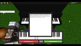 ROBLOX Piano- Safe and Sound (Taylor Swift)