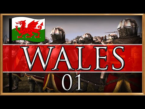 (#01) WALES CAMPAIGN | VH/VH | Medieval 2 | The Homeland