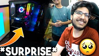 WE gifted him a Gaming PC | He got emotional and...