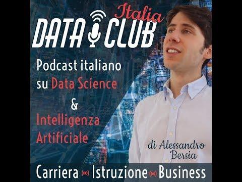 [PODCAST DataClub] Data Science, Intelligenza Artificiale & Lavoro!