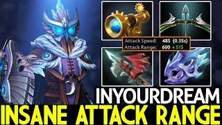 INYOURDREAM [Silencer] Insane Attack Range Crazy Mid 24 Kills 7.23 Dota 2