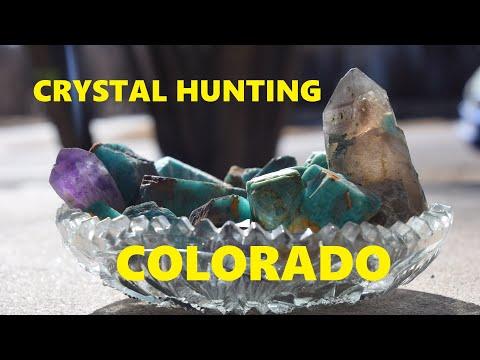 Crystal Hunting In Colorado