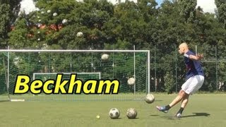 "How To Shoot Like Messi| Top Spin Free Kick Tutorial | Football physics: The ""impossible"" free kick"