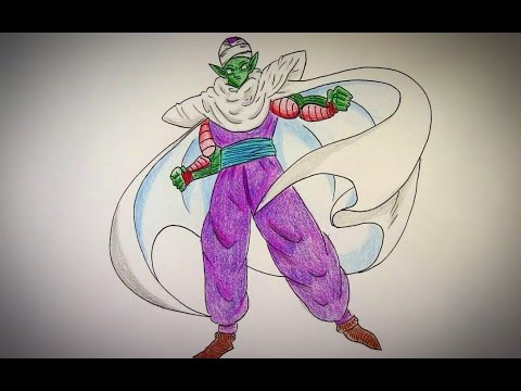 How To Draw Piccolo (Dragon Ball Z) - YouTube