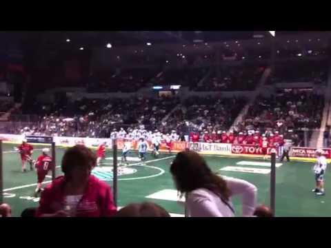 Knighthawks vs. Boston Blazers in Rochester, NY Part 1