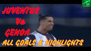 Juventus 3-1 Genoa All Goals And Highlights 30/06/2020 1080p Full Hd