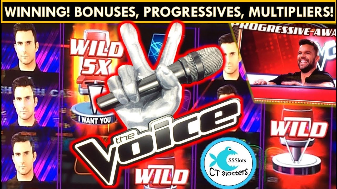 Image result for the voice slot machine