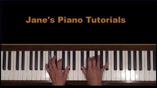 What the World Needs Now Piano Tutorial (old)