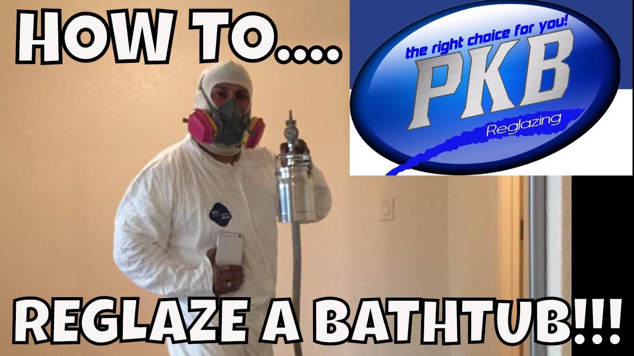 HOW TO REGLAZE A BATHTUB!! DO NOT DIY! --PHILLIPS FamBam DIY - YouTube