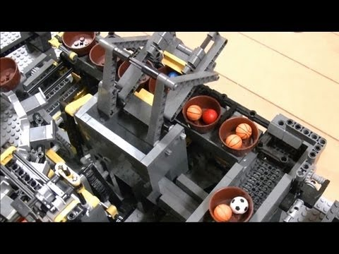 The largest Lego machine in the world