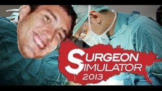 Surgeon Simulator 2013 - Ambulance Heart Transplant - Happy Birthday Soul!