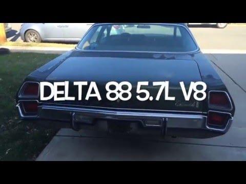 1972 Oldsmobile Delta 88 Sedan 350 Rocket 4BL