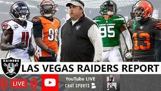 Raiders News, Trade Rumors On Julio Jones, Carlos Dunlap, Quinnen Williams + NFL Week 8 vs. Browns
