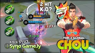 unxpected chou