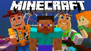 MINECRAFT STEVE AND ALEX | TOY STORY MINECRAFT ADVENTURE | Minecraft Xbox