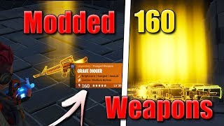 Fortnite Save The World Scammer Gets Scammed For 160 Modded weapons *Must Watch*