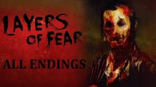 Layers of Fear: All Endings ( Wife, Wife & Child and Painter Endings)