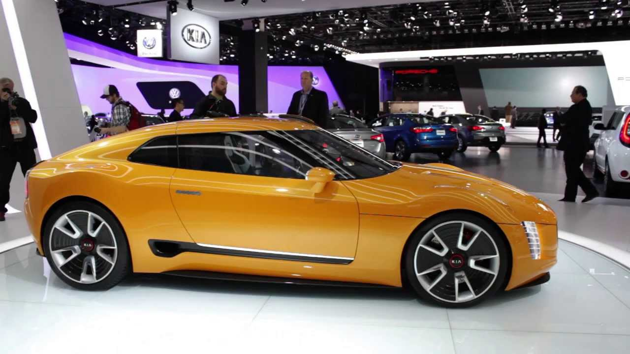 Kia Gt4 Stinger Concept Up Close Personal 2017 Detroit Auto Show You