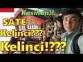 Orang Korea Akang Daniel  Kaget Makan Sate KELINCI Di BANDUNG INDONESIA