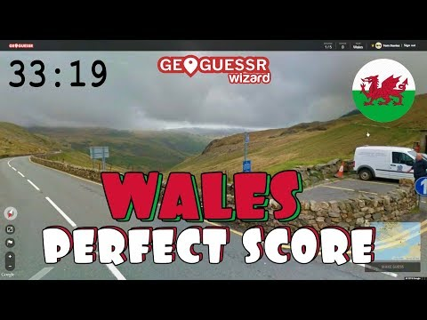 Perfect Score On Geoguessr (Wales Version) In 33:19