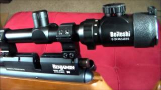 BEILESHI RIFLE SCOPE 6-24 X 50 AOEG