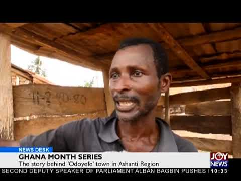 Ghana Month Series - News Desk on Joy News (14-3-18)