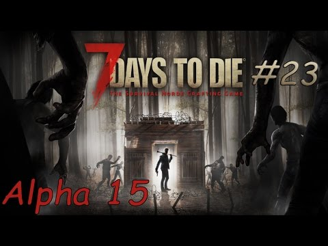 7 Days To Die: Alpha 15, -- собираем минибайк [серия 23]