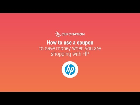 Save Money By Using HP Coupon Now!