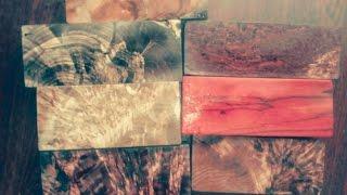 Стабилизация древесины. Первые успехи.