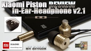 Xiaomi Piston v2.1 in-ear headphones [REVIEW & SOUND TEST] The BEST earphones in the world!