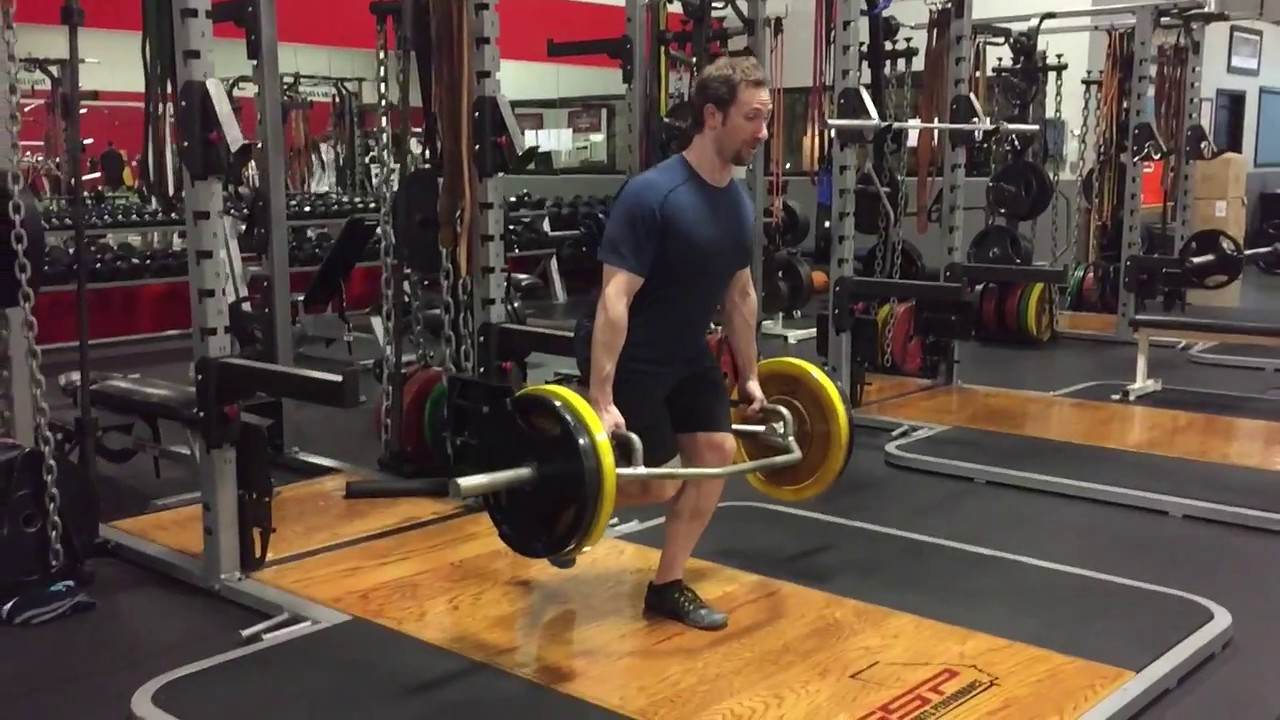 918145e20b74 Trap Bar Eccentric Accentuated Deadlifts and Squats - YouTube