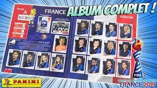 ALBUM COMPLET Panini Coupe du Monde Foot Féminin France 2019 Allez Les Bleues Football Jouet Review