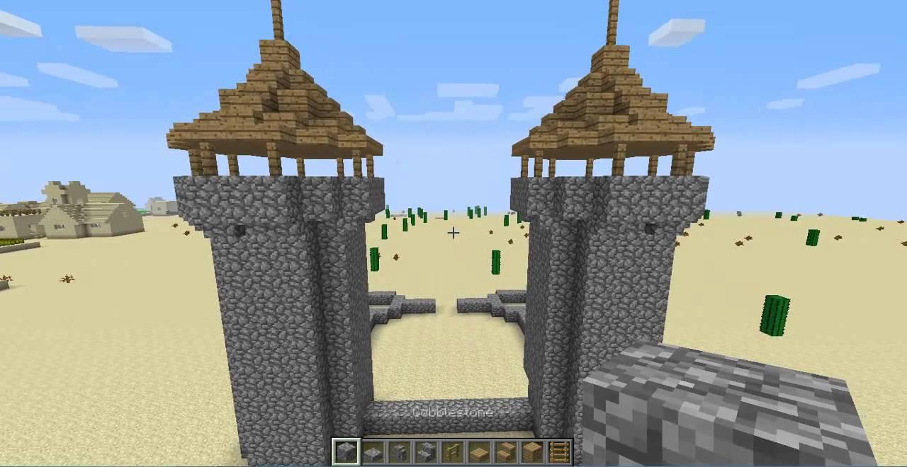 Minecraft: Inspiration Builds: Survival Castle - YouTube