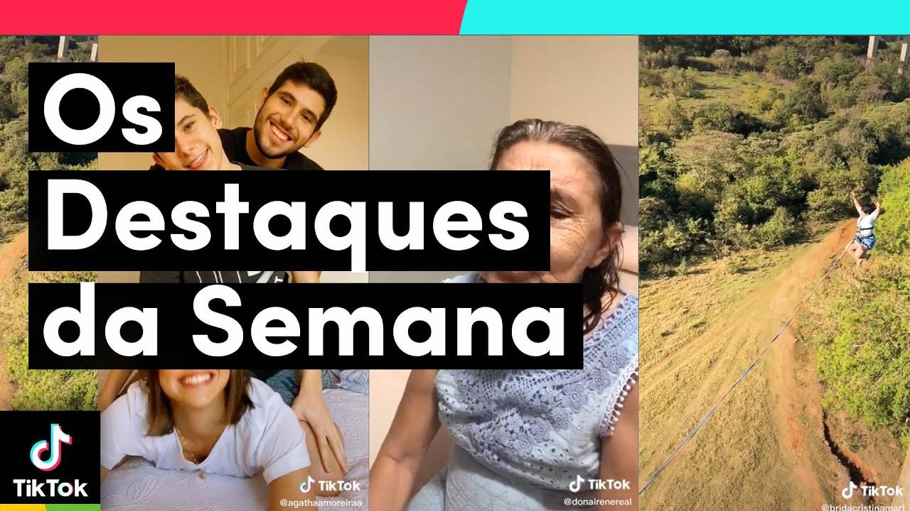 Vem ver os MELHORES VÍDEOS da semana | TikTok Brasil