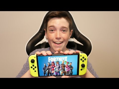 FORTNITE ON THE NINTENDO SWITCH!!