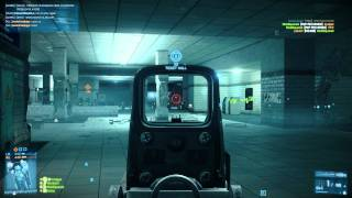 Battlefield 3 Metro Conquest 64 Player PC HD 1080P