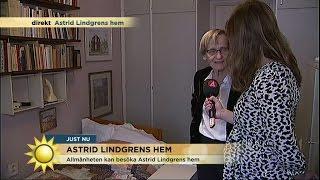 Följ med på visning i Astrid Lindgrens hem - Nyhetsmorgon (TV4)