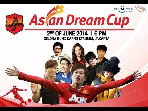 [FULL] Asian Dream Cup 2014 Running Man Indonesia All Stars VS Ji Sung n Friends